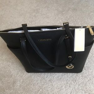Xl large michael kors jet set soffiano  tote